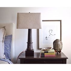 Saturday's are for sleeping in... #thepaintedolive #bedsidetable #lamp #wagonaxle #turtleshell #sketch #abaloneshell #tablestyling #paperairplane