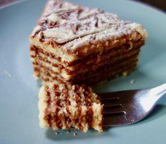 Belgian waffle cake