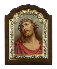 Jesus Christ Crown of thorns - Byzantine icon - Christianity Art Jesus Crist, Sistine Chapel, Byzantine Icons, Crown Of Thorns, The Crown, Christianity, Art Projects, In This Moment, Gift