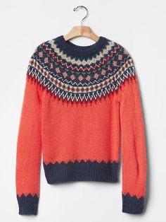 Fair isle sweater | Gap