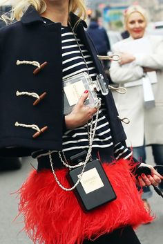 Chanel #TimelessStyle #Stripes