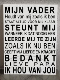 I Love My Father, I Love My Daughter, My Love, Dutch Quotes, Fathers Day Quotes, Bff, Birthday Wishes, Slogan, Quote Of The Day