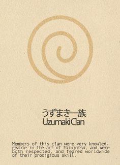 the Ukamaki Clan's symbol represents friendship and is on all Leaf Shinobi uniforms.