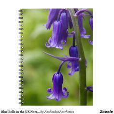 Blue Bells in the UK Notebook