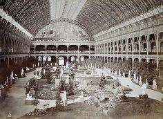 1855 palais de l'intérieur.