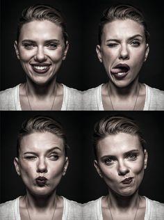 Scarlett Johansson, Gave Good Face.