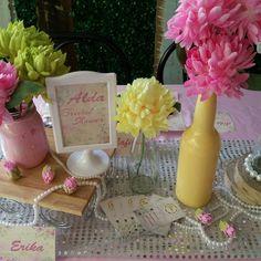 Bridal shower Pastel theme