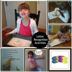 ...Your Teachers' Lounge... : Letter Recognition Activities