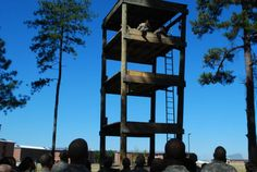 """""""You won't be using the ladder, private.""""- Confidence Course- Charlie 1/13- US Army BCT- Fort Jackson, SC"""