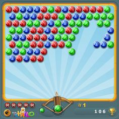 This is a game that belongs to the shooting one player puzzle games.