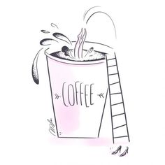 illustration magalie F cafe.jpg - Magalie F   Virginie