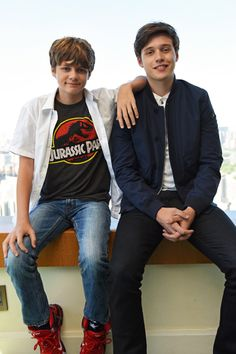 Ty Simpkins and Nick Robinson