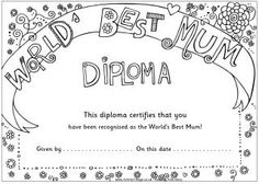 world s best mother certificate printables projects to try