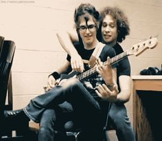 They were, and always will be, the boys jamming out in the band room.