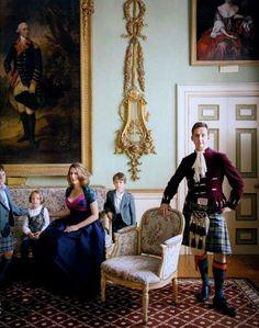 The duke and duchess of Argyle