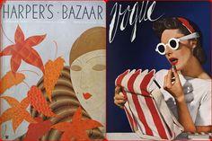 1930 Fashion Magazine as Vogue and Harper's Bazaar
