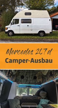 Mercedes 207D Campingbus Ausbau