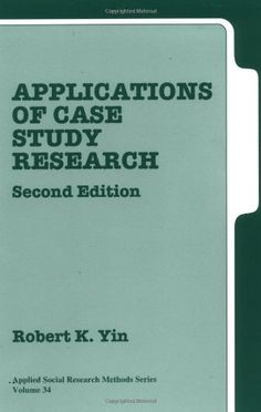 Case Study Research  Design and Methods  Applied Social Research Methods    Amazon co uk  Robert K  Yin                 Books SP ZOZ   ukowo