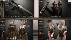 Torvis Weapons http://maps.secondlife.com/secondlife/Cies%20Island/192/77/23