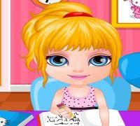 Bebek Barbie Ödev Yaramazlığı