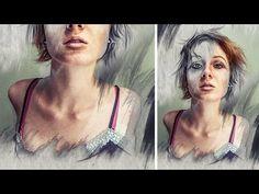 Pencil Mask Photo Effects | Photoshop Manipulation Tutorial - YouTube