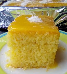 Greek Desserts, Greek Recipes, Lemon Cream, Yams, Cake Pops, Cornbread, Vanilla Cake, Deserts, Cooking Recipes