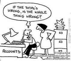 Accounting - Don't leave it to chance!