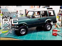 RC ADVENTURES CREATE SCALE RC CAR LANDROVER DISCOVERY