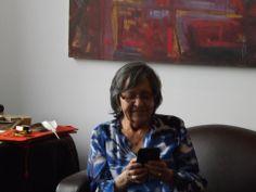 Elder at Georgian College Aboriginal Studies Sylvia :)