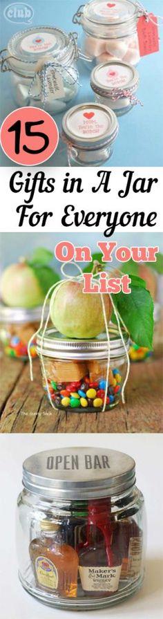 Gifts in a Jar - Geschenkideen im Glas für jedermann