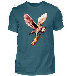 Bierdurst Eule T-Shirt Shirt Dress, Dresses, Fashion, Owls, Cotton, Vestidos, Moda, Shirtdress, Fashion Styles