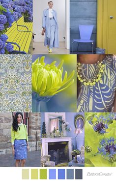 Pattern Curator delivers color, print and pattern trends and inspiration. Colour Pallette, Colour Schemes, Color Trends, Color Patterns, Pattern Curator, Fashion Trends 2018, Colour Combinations Fashion, Periwinkle Color, Magenta