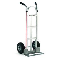 250 lbs Capacity 6 x 2 Grey Non-Marking No Flat Pneumatic Wheel