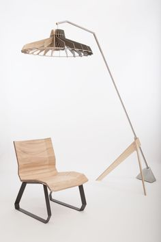FOLD is a minimalist design created by The The FOLD Low Chair is the result of a designproces in which the designers were trying to make a comfortable chair out of plywood board. (5)