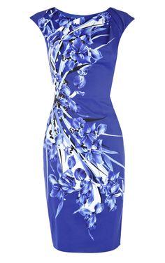 Awesome Blue Dress - http://ikuzolady.com/awesome-blue-dress/