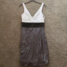 Beaded cocktail dress Awesome condition and amazing fit! Perfect condition! Size petite Maria Bianca Nero Dresses Mini