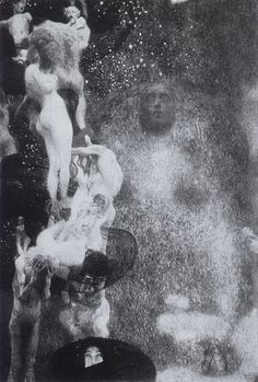 Philosophy, University of Vienna ceiling painting by Gustav Klimt, 1899-1907. Destroyed by fire in May 1945 by retreating SS troops http://sexualityinart.wordpress.com/2007/11/17/gustav-klimts-lost-paintings/
