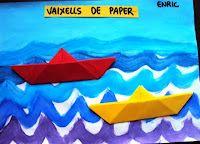 Plastiquem: VAIXELLS DE PAPER