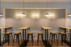 Lighting Design Projects: Cafeteria Taloaska in Duesto #lightingprojects #designprojects #interiordesign #lighting