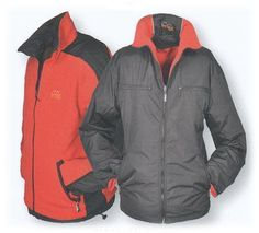 *BRIGG Wendejacke 1XL-5XL 10033001-513 Memb/Fleece Black/Red http://www.the-big-gentleman-club.com/