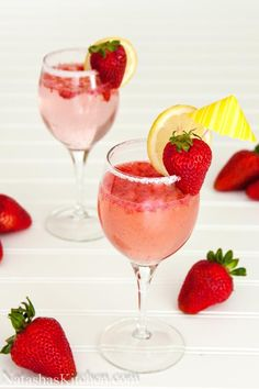 How to Strawberry Party Punch