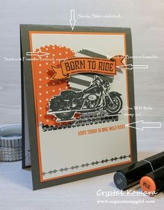 Stampin' Up! One Wild Ride