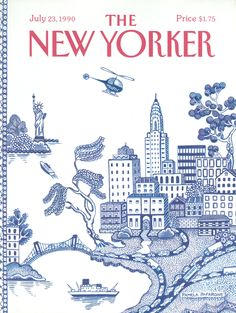 The New Yorker - Monday, July 23, 1990 - Issue # 3414 - Vol. 66 - N° 23 - Cover by : Pamela Paparone