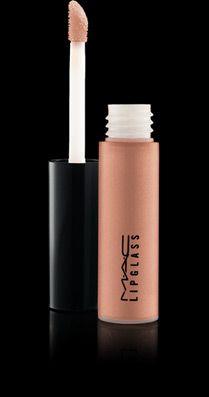 "Mac Lipglass - ""Myth"" is a gorgeous nude gloss. Love!!!"