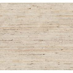 """Brewster Home Fashions Kotone Grasscloth 24' x 36"""" Solid Roll Wallpaper"""