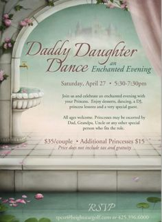 #TPC Snoqualmie Ridge #Daddy-Daughter Dance