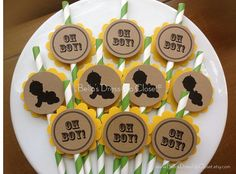 12 Pack Baby Shower New Baby Boy by BellasDressUpCloset on Etsy, $12.95