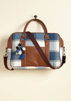 6444d6a51055 Always Got Your Pack Weekend Bag in Plaid