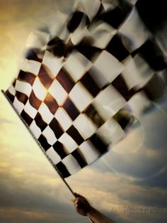 Person's Hand Waving a Checkered Flag – Spor Dirt Track Racing, Nascar Racing, Auto Racing, Race Quotes, Flat Track Motorcycle, Checkered Flag, Sleeve Tattoos, Car Tattoos, Print Tattoos