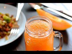 Agua de zanahoria, pepino y limón - YouTube